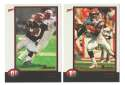 1998 Bowman Football Team Set - CINCINNATI BENGALS
