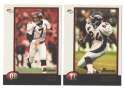 1998 Bowman Football Team Set - DENVER BRONCOS