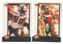 1998 Bowman Football Team Set - TAMPA BAY BUCCANEERS
