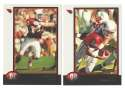 1998 Bowman Football Team Set - ARIZONA CARDINALS