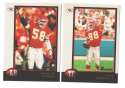 1998 Bowman Football Team Set - KANSAS CITY CHIEFS