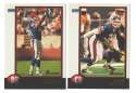 1998 Bowman Football Team Set - NEW YORK GIANTS