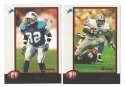 1998 Bowman Football Team Set - DETROIT LIONS