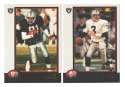 1998 Bowman Football Team Set - OAKLAND RAIDERS