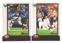 1998 Bowman Football Team Set - BALTIMORE RAVENS