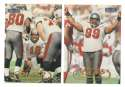 1998 Fleer Tradition Football Team Set - TAMPA BAY BUCCANEERS