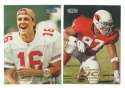 1998 Fleer Tradition Football Team Set - ARIZONA CARDINALS