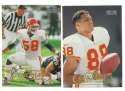 1998 Fleer Tradition Football Team Set - KANSAS CITY CHIEFS
