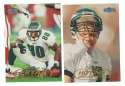 1998 Fleer Tradition Football Team Set - PHILADELPHIA EAGLES
