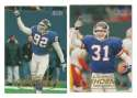 1998 Fleer Tradition Football Team Set - NEW YORK GIANTS