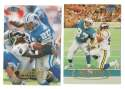1998 Fleer Tradition Football Team Set - DETROIT LIONS