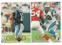 1998 Fleer Tradition Football Team Set - CAROLINA PANTHERS