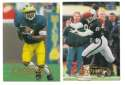 1998 Fleer Tradition Football Team Set - OAKLAND RAIDERS