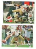 1998 Fleer Tradition Football Team Set - NEW ORLEANS SAINTS