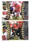 1998 Pacific Omega Football Team Set - TAMPA BAY BUCCANEERS