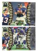 1998 Pacific Omega Football Team Set - NEW YORK GIANTS