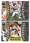 1998 Pacific Omega Football Team Set - CAROLINA PANTHERS