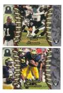 1998 Pacific Omega Football Team Set - OAKLAND RAIDERS
