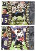 1998 Pacific Omega Football Team Set - BALTIMORE RAVENS