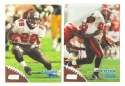 1998 Topps Stadium Club Football Team Set - TAMPA BAY BUCCANEERS