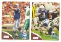 1998 Topps Stadium Club Football Team Set - INDIANAPOLIS COLTS Peyton Manning RC