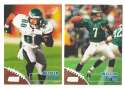 1998 Topps Stadium Club Football Team Set - PHILADELPHIA EAGLES