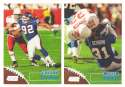 1998 Topps Stadium Club Football Team Set - NEW YORK GIANTS