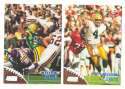 1998 Topps Stadium Club Football Team Set - GREEN BAY PACKERS