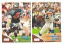 1998 Topps Stadium Club Football Team Set - CAROLINA PANTHERS