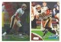 1998 Topps Stadium Club Football Team Set - NEW ORLEANS SAINTS