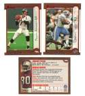 1999 Bowman Football - CAROLINA PANTHERS Team Set