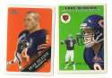2000 Fleer Tradition Football Team Set - CHICAGO BEARS