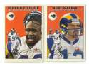 2000 Fleer Tradition Football Team Set - ST. LOUIS RAMS