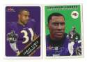 2000 Fleer Tradition Football Team Set - BALTIMORE RAVENS