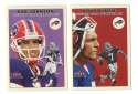 2000 Fleer Tradition Glossy Football Team Set - BUFFALO BILLS