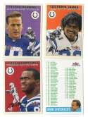 2000 Fleer Tradition Glossy Football Team Set - INDIANAPOLIS COLTS