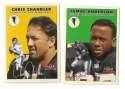 2000 Fleer Tradition Glossy Football Team Set - ATLANTA FALCONS