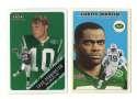 2000 Fleer Tradition Glossy Football Team Set - NEW YORK JETS