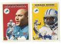 2000 Fleer Tradition Glossy Football Team Set - DETROIT LIONS