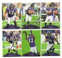 2011 Topps Prime Football Team Set - BALTIMORE RAVENS   w/  1 #ED 699