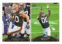 2011 Topps Prime Football Team Set - CLEVELAND BROWNS
