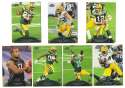 2011 Topps Prime Football Team Set - GREEN BAY PACKERS