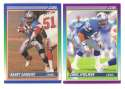 1990 Score Football Team Set - DETROIT LIONS