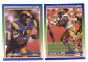 1990 Score Football Team Set - LOS ANGELES RAMS