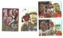 1999 Flair Showcase Football Team Set - ARIZONA CARDINALS