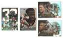 1999 Flair Showcase Football Team Set - ATLANTA FALCONS