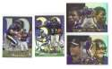 1999 Flair Showcase Football Team Set - BALTIMORE RAVENS