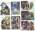 1999 Flair Showcase Football Team Set - BUFFALO BILLS