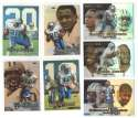 1999 Flair Showcase Football Team Set - DETROIT LIONS