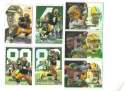 1999 Flair Showcase Football Team Set - GREEN BAY PACKERS